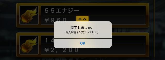 App購入完了