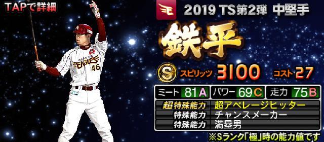 2019TS第2弾鉄平