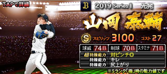 2019Sランク評価山岡