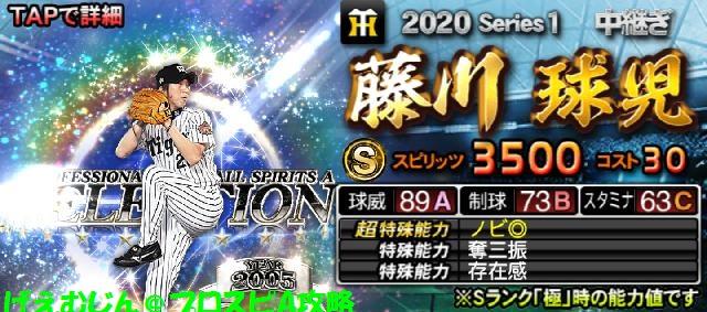 2020セレクション第1弾藤川
