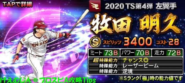 2020TS第4弾牧田
