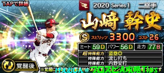 2020期待の若手-山崎