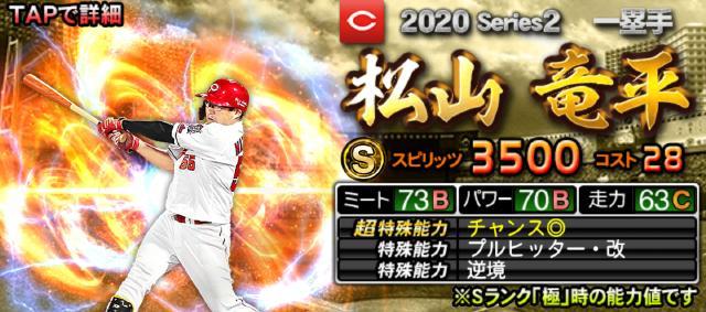 2020シリーズ2松山