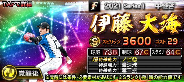 2021覚醒ドラ1伊藤