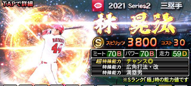2021シリーズ2三塁手林