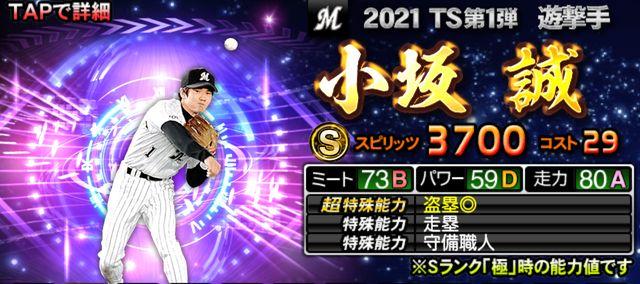 TSタイムスリップ2021第1弾小坂