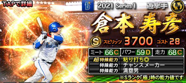 シリーズ1野手倉本