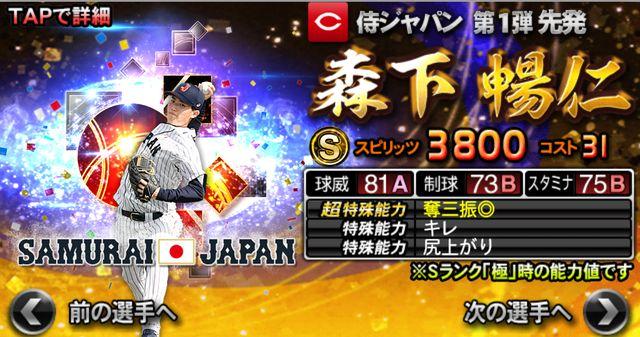 侍ジャパン2021森下