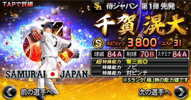 侍ジャパン2021千賀